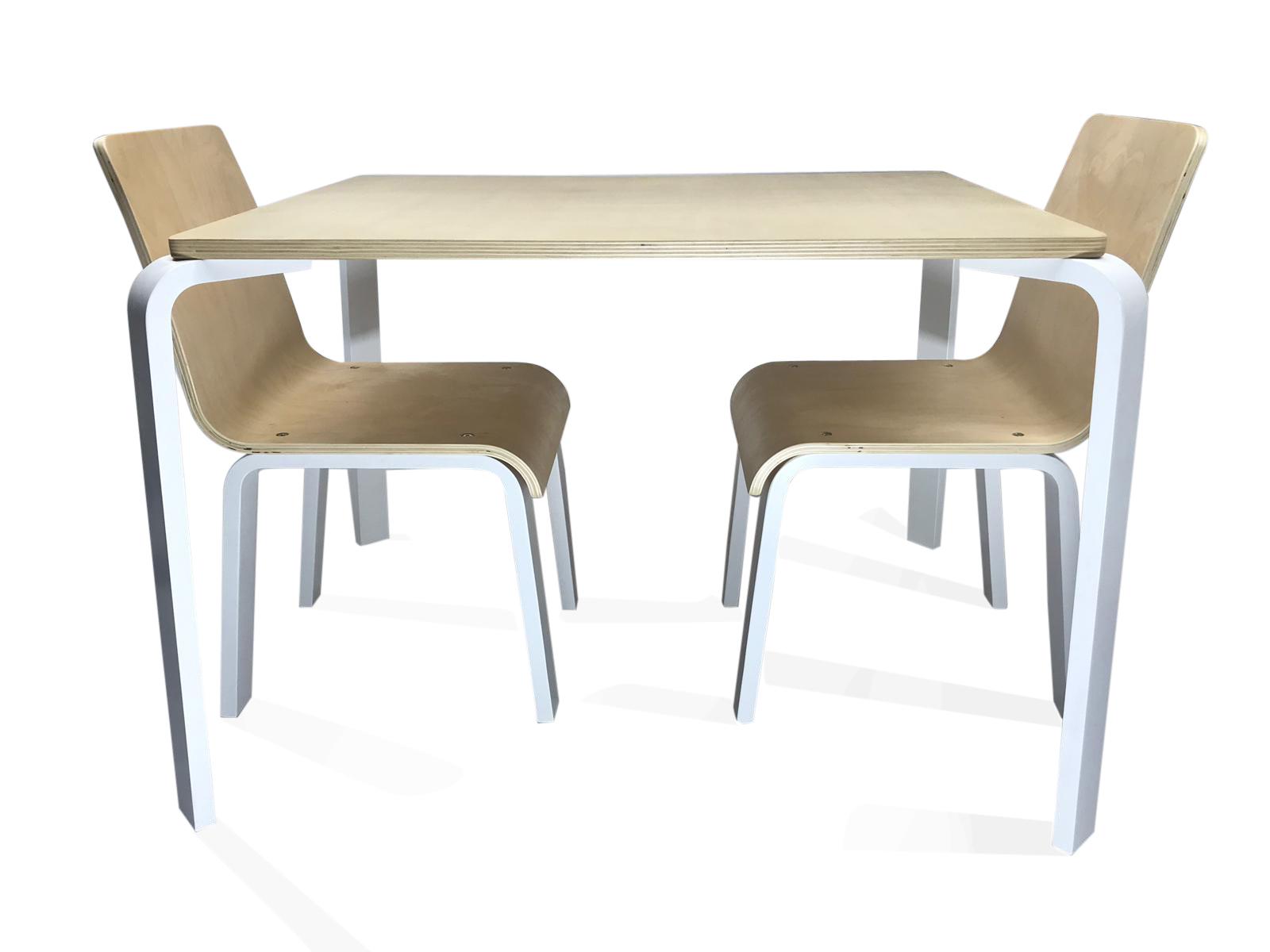 Kindertafel Met Twee Stoeltjes.Diaz Hoge Kindertafel Met Twee Stoeltjes