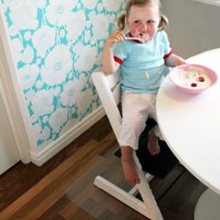 kinderstoel mat