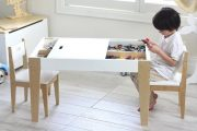 kindertafel en stoeltje beboonz 2