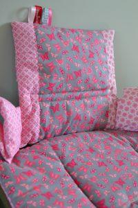 stoelverkleiner Roze Grijs Butterfly